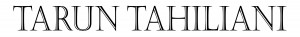 brand logo of indian fashion designer tarun tahiliani