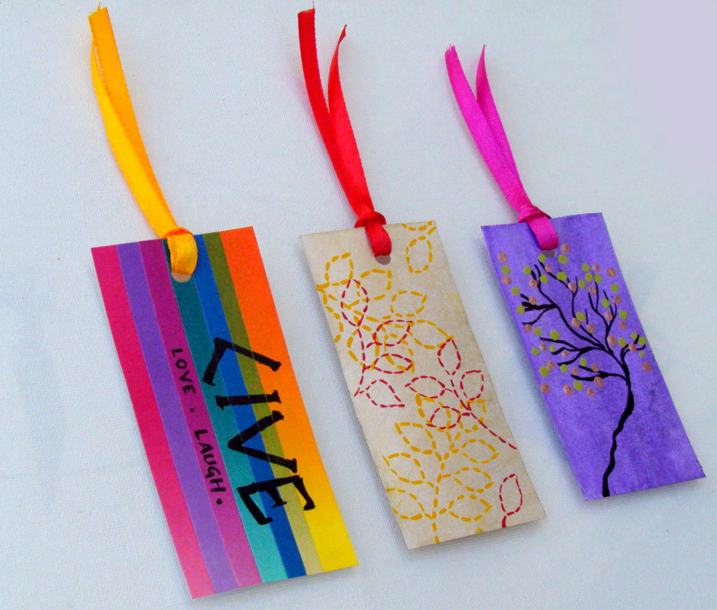 handmade bookmarks for sale - handmade gift items india online