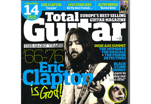 Free Information and News about Music Magazines of India - Music Publications in India - News and Information about Indian Music Industry - Music Books and Magazines India - Total Guitar Magazine