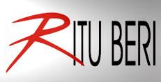 brand logo of indian fashion designer Ritu-Beri