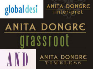 brand logo of indian fashion designer anita dongre