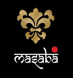 brand logo of indian fashion designer masaba-gupta