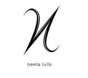 brand logo of indian fashion designer neeta-lulla