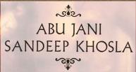brand logo of indian fashion designers abu jani and sandeep khosla